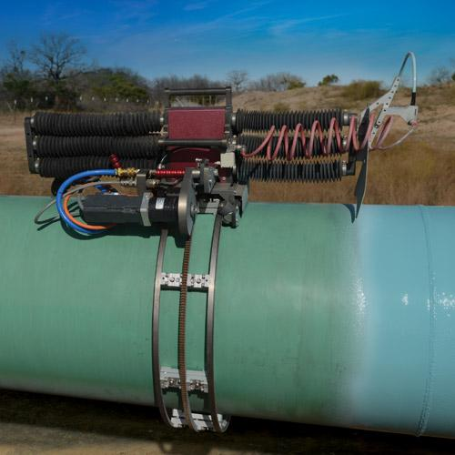 IntelliSPRAY Automated Pipe Coating System